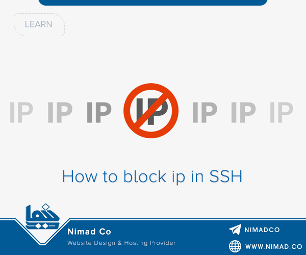 How to block ip in SSH